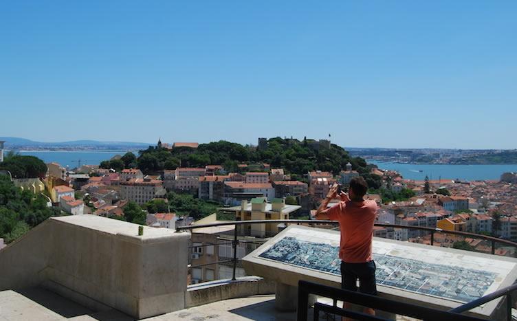 Fotos de Lisboa Graça e Senhora do Monte