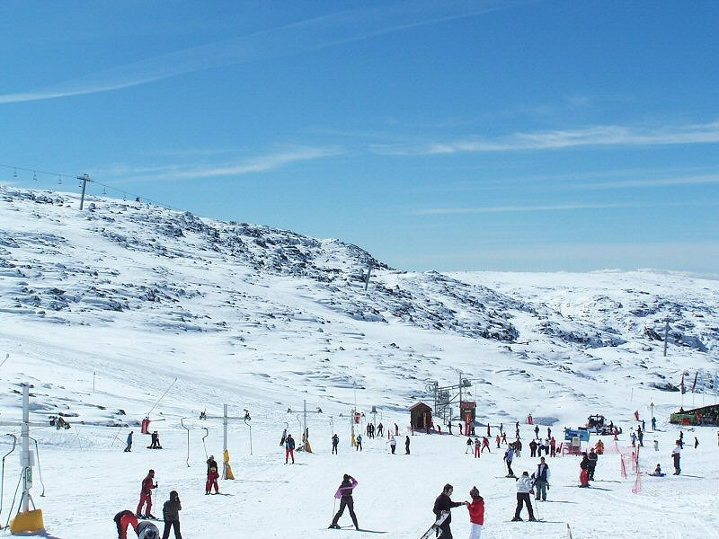 Onde tem neve em Portugal