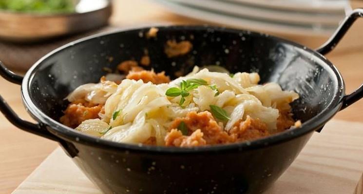 receitas de bacalhau Açorda de Bacalhau com Tomate